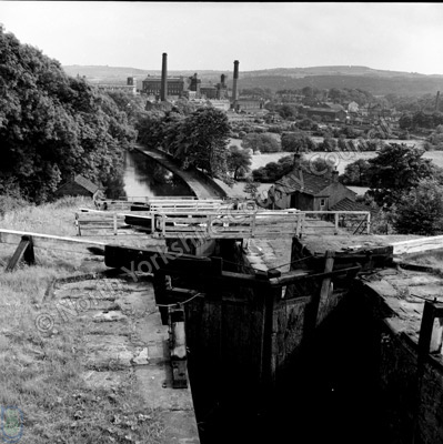 Leeds-Liverpool Canal, Five Rise Locks, Bingley